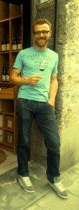 Thomas Finot au Vin des Alpes