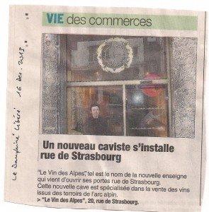Le Dauphiné Libéré du 16 décembre 2013